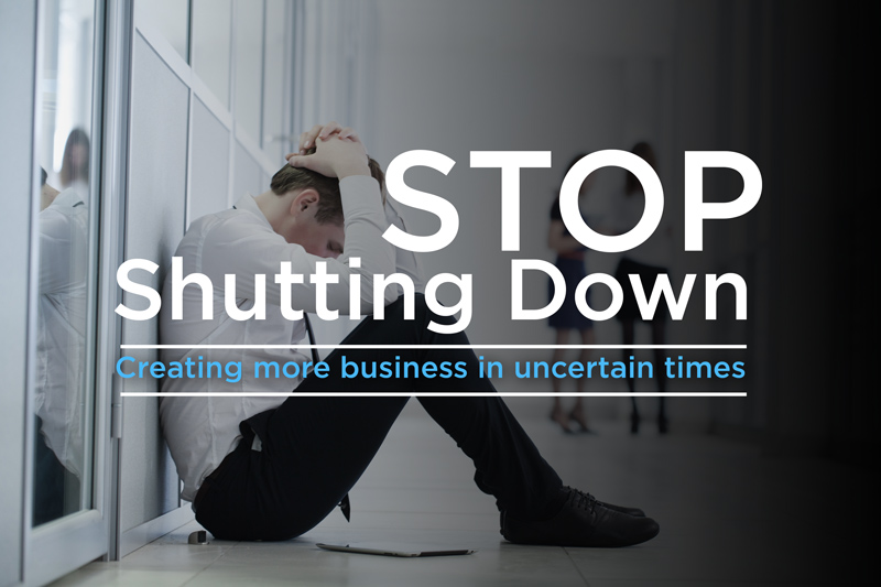 Are you shutting down?